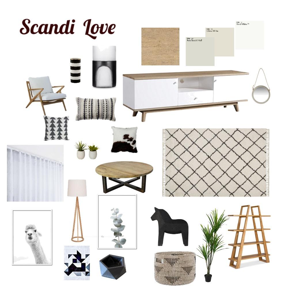 Scandi Love Interior Design Mood Board by BonnieBella on Style Sourcebook