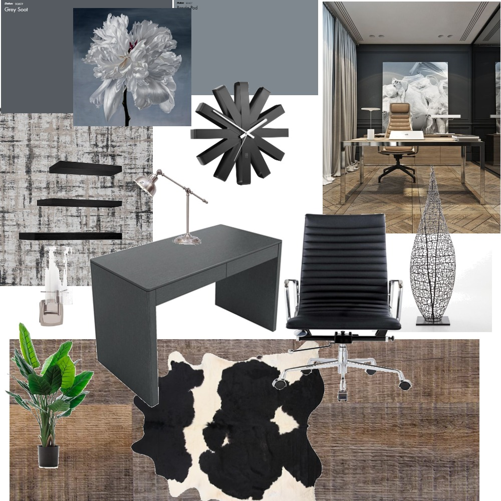 Study Interior Design Mood Board by Rione on Style Sourcebook