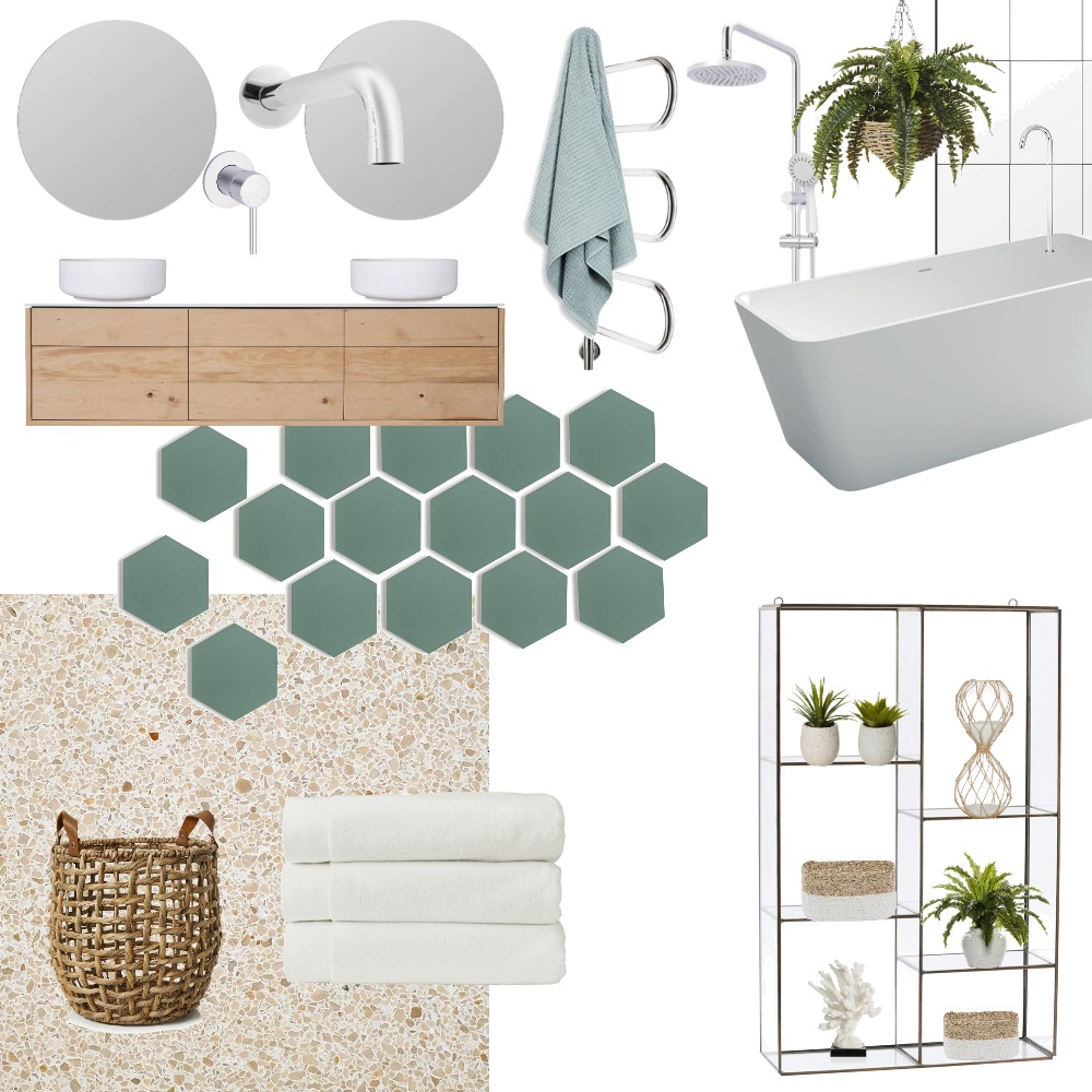 Bathroom Interior Design Mood Board by kimgriffin on Style Sourcebook