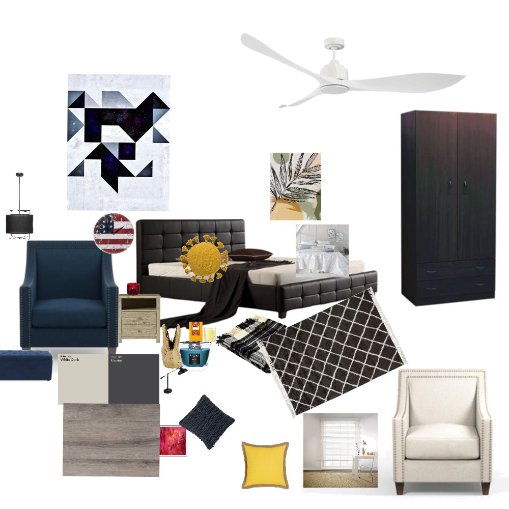 臥室 Interior Design Mood Board by Anita on Style Sourcebook