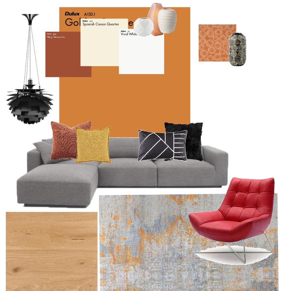 living room Interior Design Mood Board by Beata on Style Sourcebook