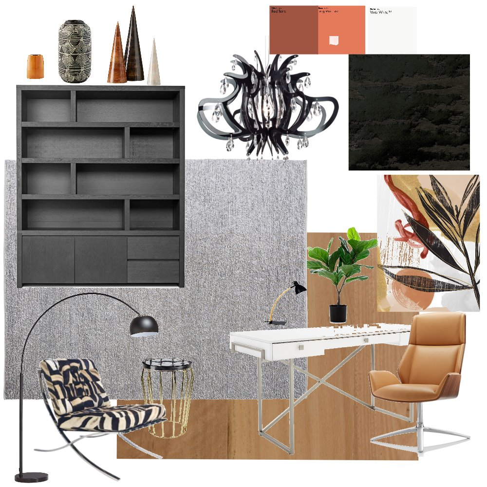 Home office Interior Design Mood Board by Beata on Style Sourcebook