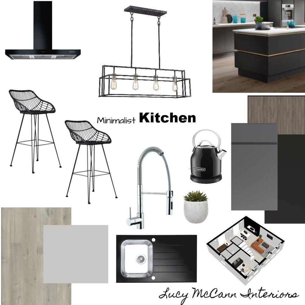 Module 9 Kitchen Interior Design Mood Board by LucyMcCann on Style Sourcebook