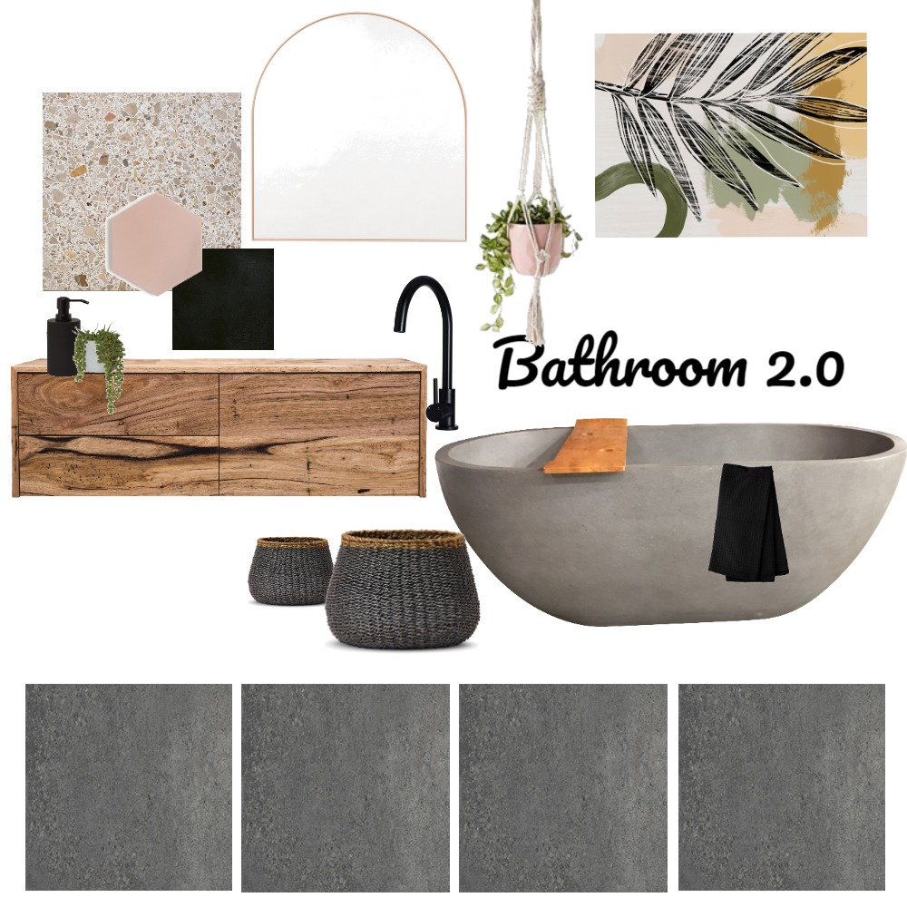 Bathroom 2.0 Interior Design Mood Board by taketwointeriors on Style Sourcebook