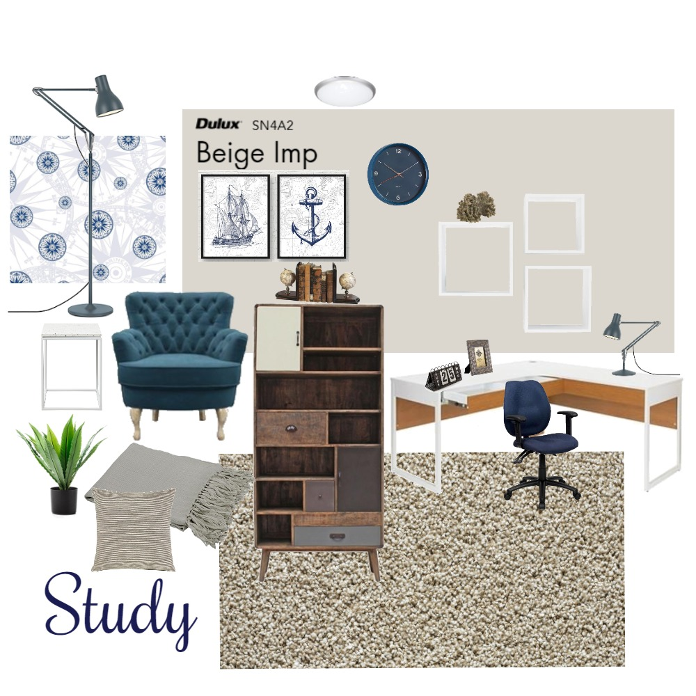 Study Interior Design Mood Board by ZoeStudent on Style Sourcebook