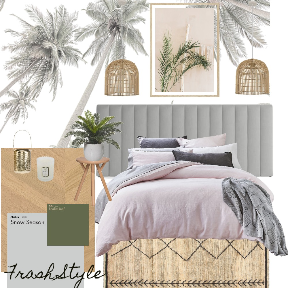 Bedroom Interior Design Mood Board by Deco My World on Style Sourcebook