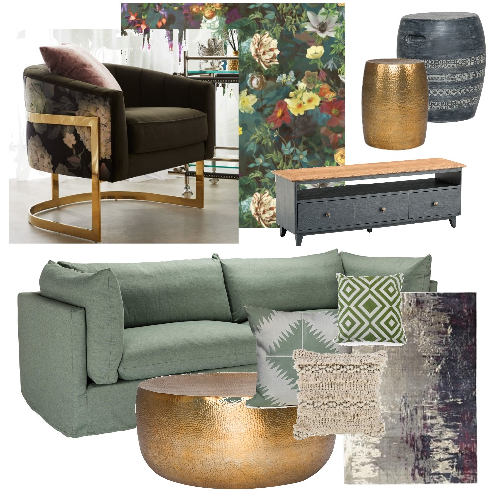 Living Room Interior Design Mood Board by OliviaGelaDesign on Style Sourcebook
