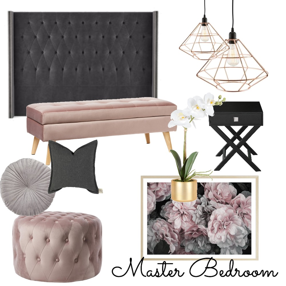 Master Bedroom Interior Design Mood Board by Adels on Style Sourcebook
