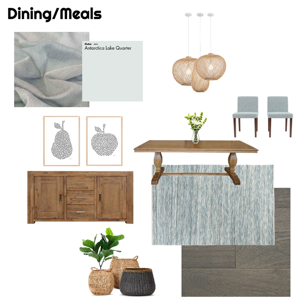 Dining Room Interior Design Mood Board by nicstyled on Style Sourcebook
