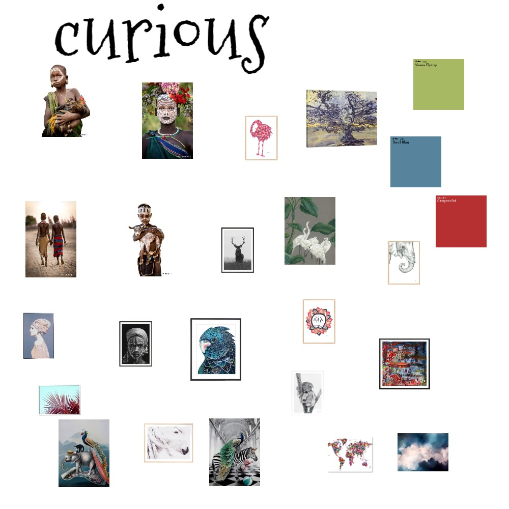 curious Interior Design Mood Board by kristyw on Style Sourcebook