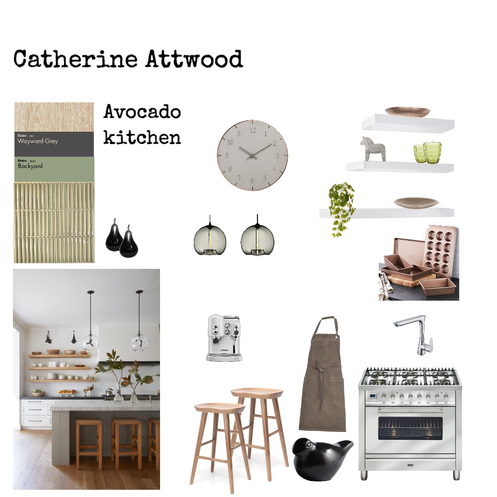 Catherine Attwood Interior Design Mood Board by Megs on Style Sourcebook