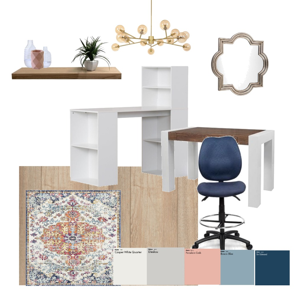 Office Interior Design Mood Board by BellaViaDesign on Style Sourcebook