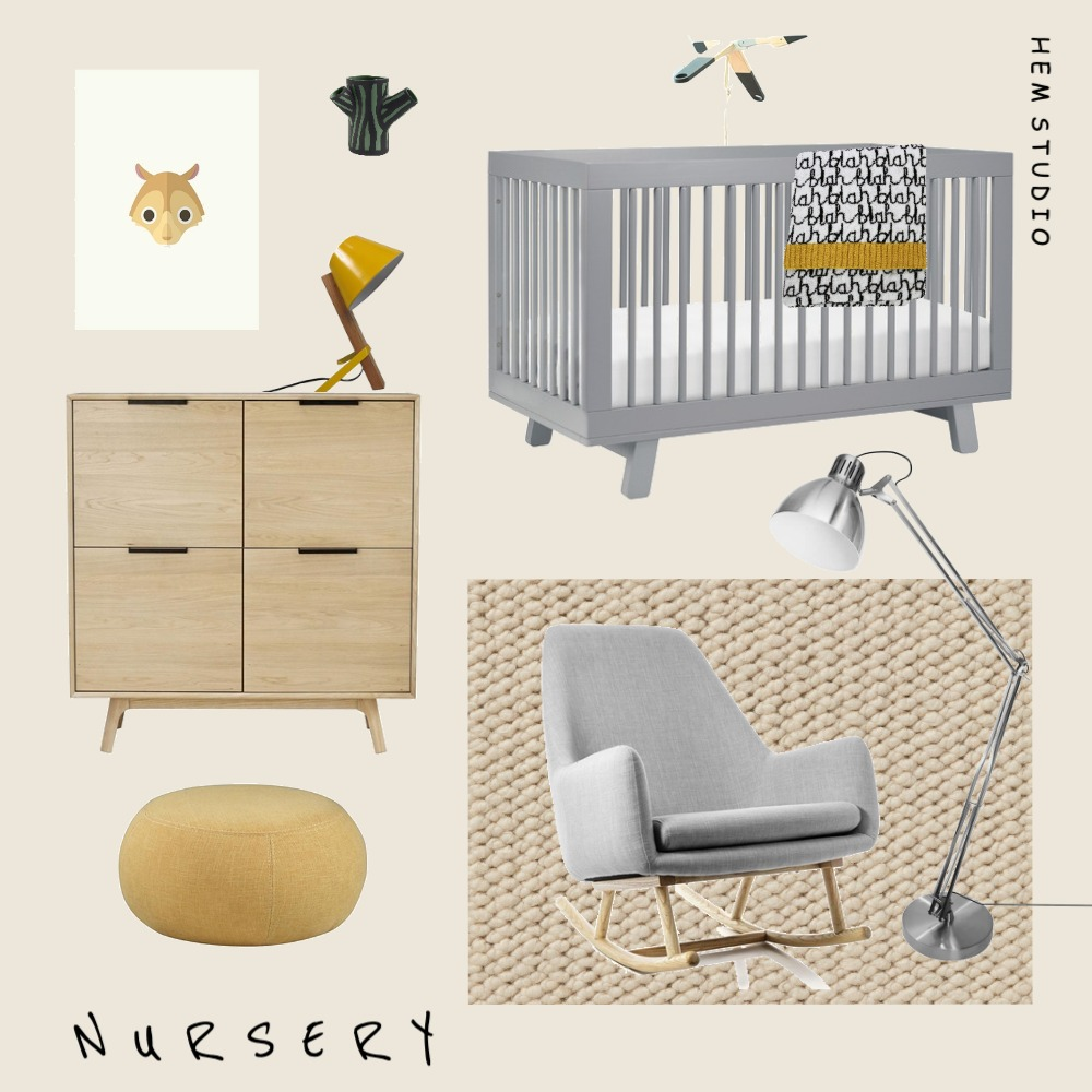 baby Interior Design Mood Board by mal_fila on Style Sourcebook