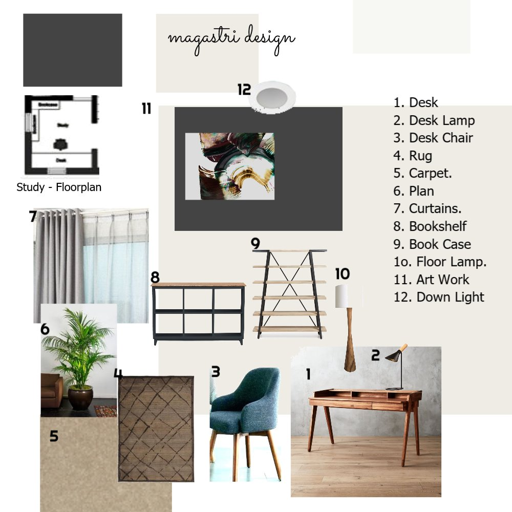 Mood Board Study Interior Design Mood Board by pastro on Style Sourcebook