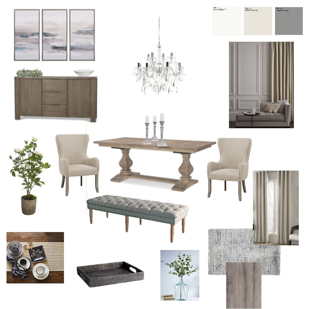 Dining room Interior Design Mood Board by breehassman on Style Sourcebook