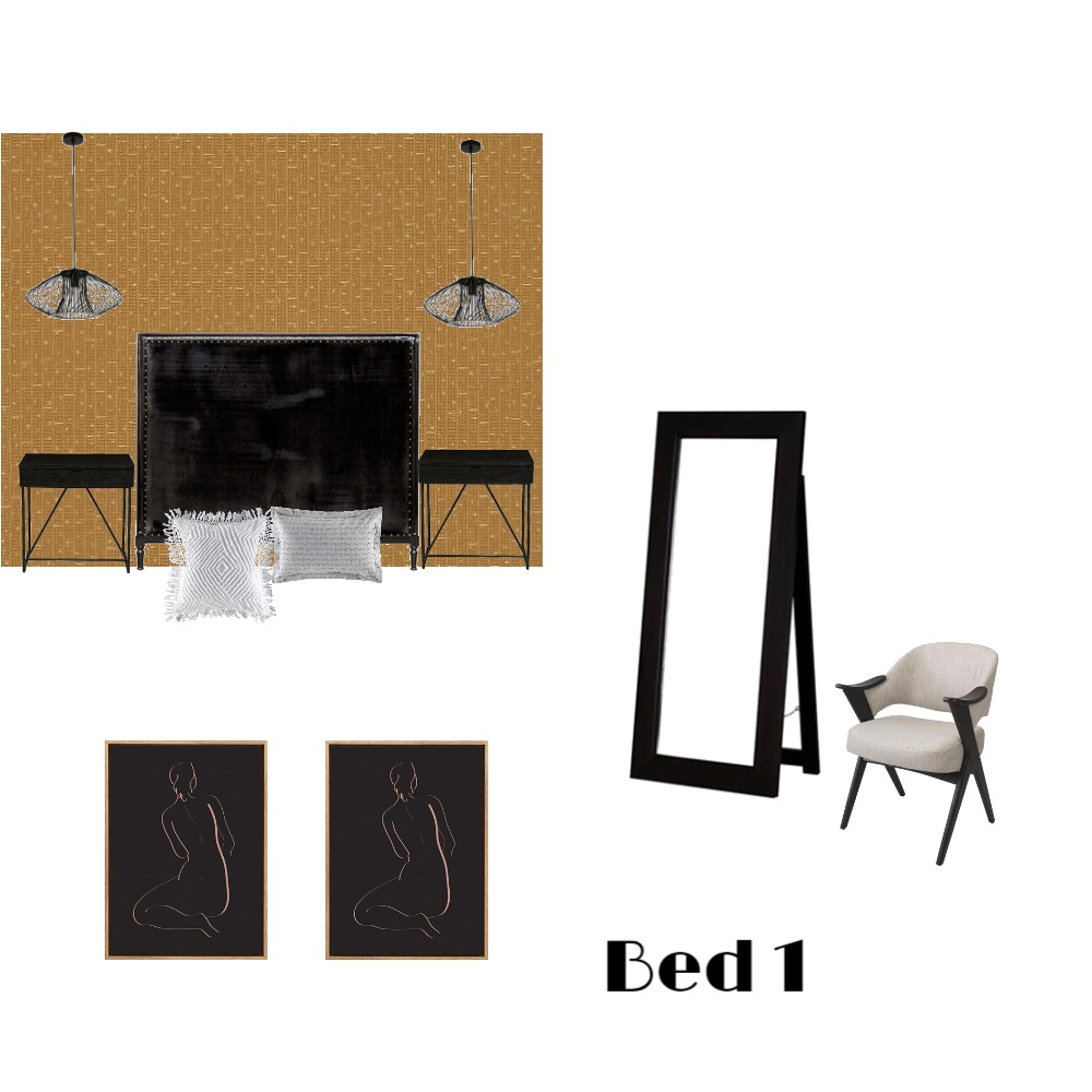 Single Storey Bed 1 Interior Design Mood Board by MimRomano on Style Sourcebook