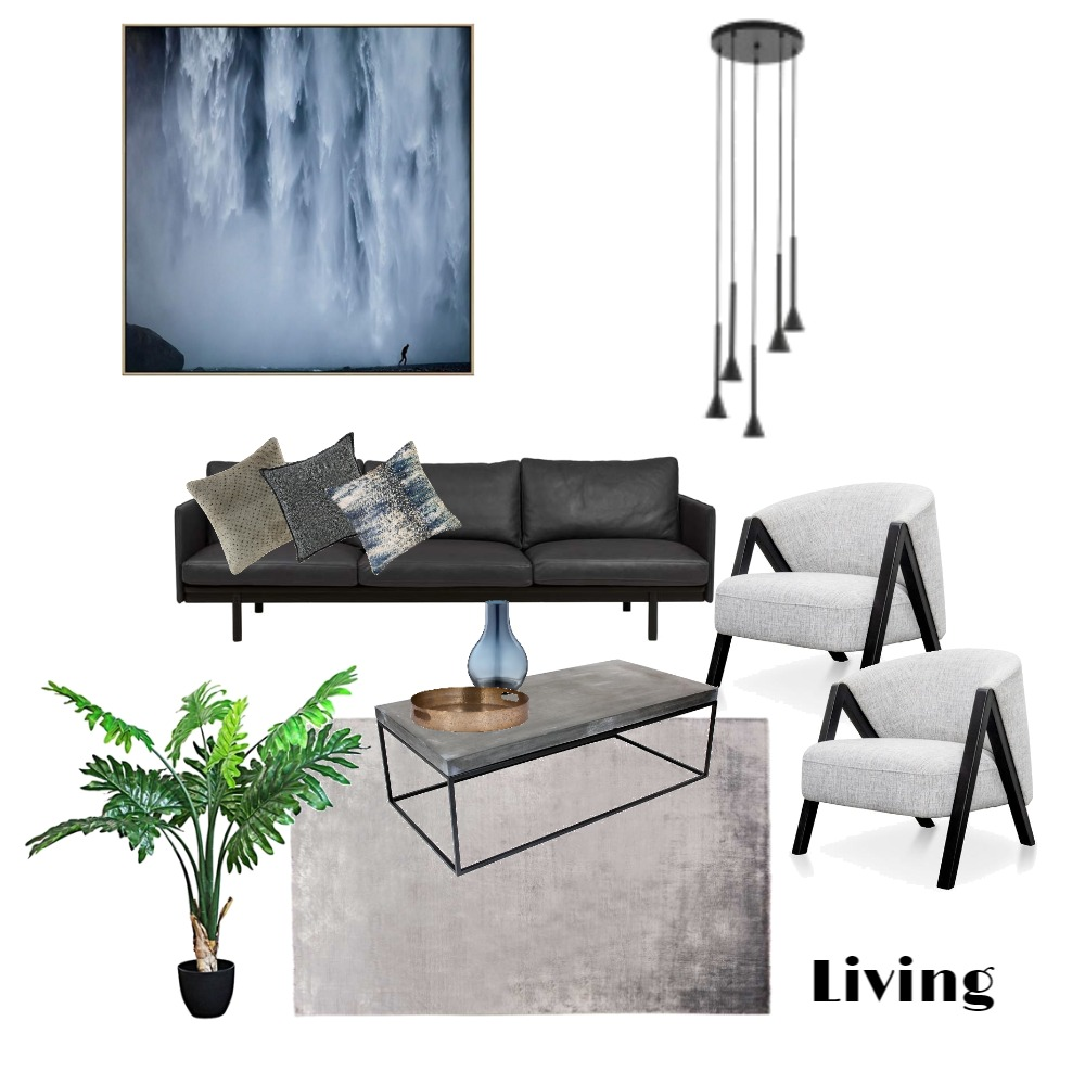 Living Interior Design Mood Board by MimRomano on Style Sourcebook