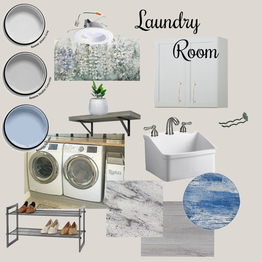 Laundry Room Interior Design Mood Board by JYarletts on Style Sourcebook