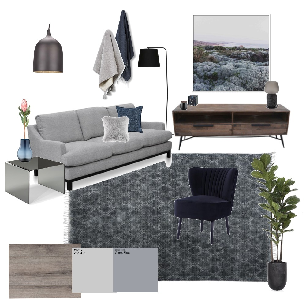 The dark side Interior Design Mood Board by aimeehills on Style Sourcebook
