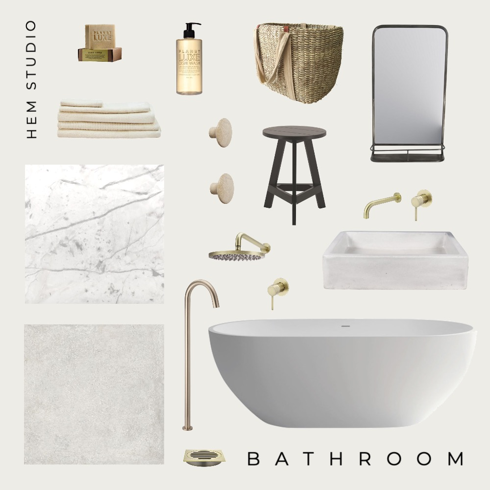 bathroom Interior Design Mood Board by mal_fila on Style Sourcebook