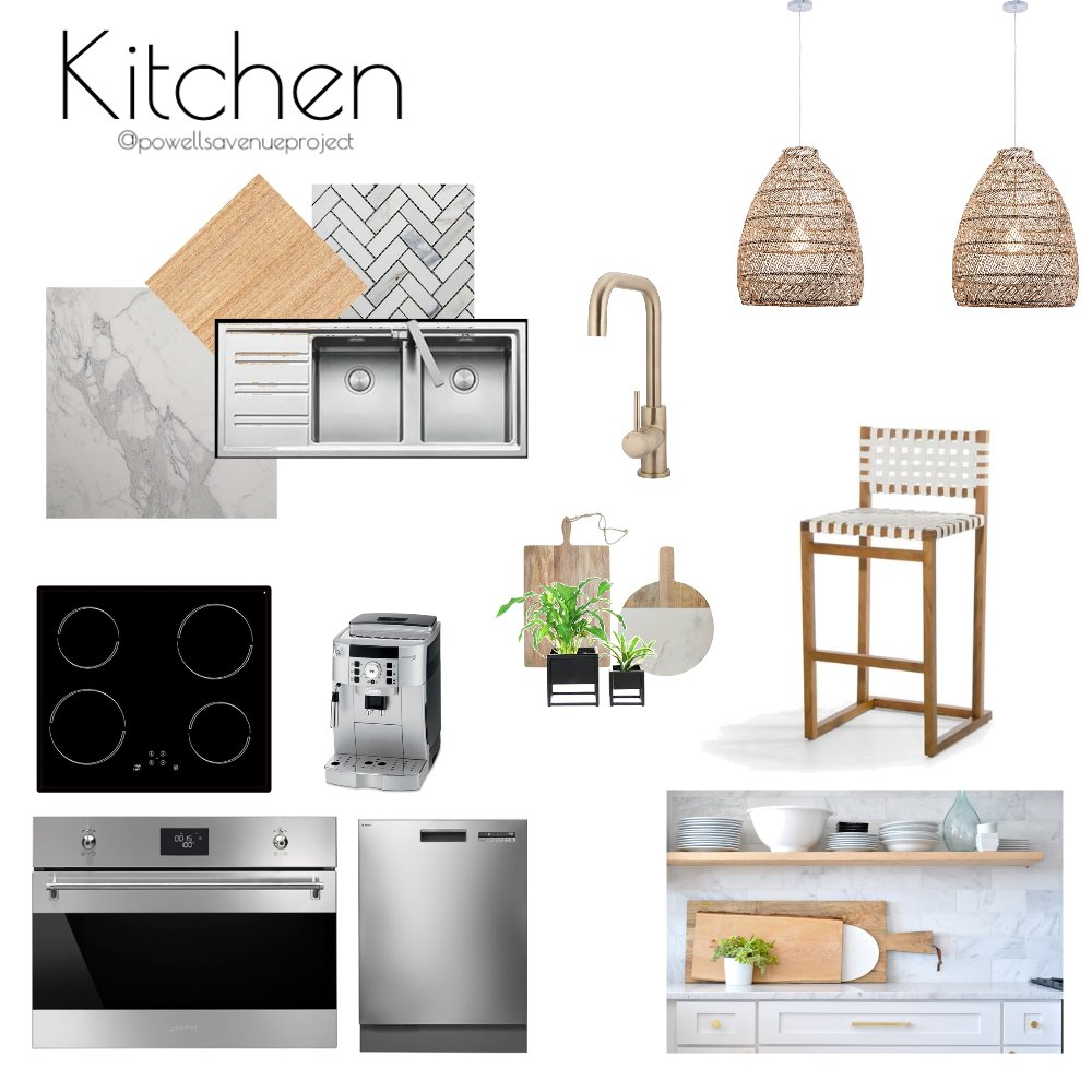 concept kitchen Interior Design Mood Board by Powellsaveproject on Style Sourcebook
