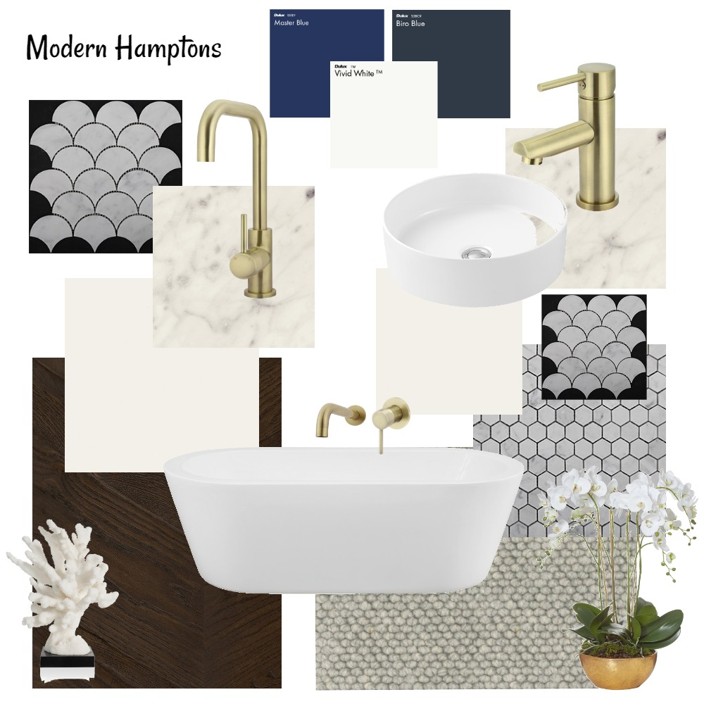 Modern Hamptons Internal Colour Scheme Interior Design Mood Board by Designbyjoanne on Style Sourcebook