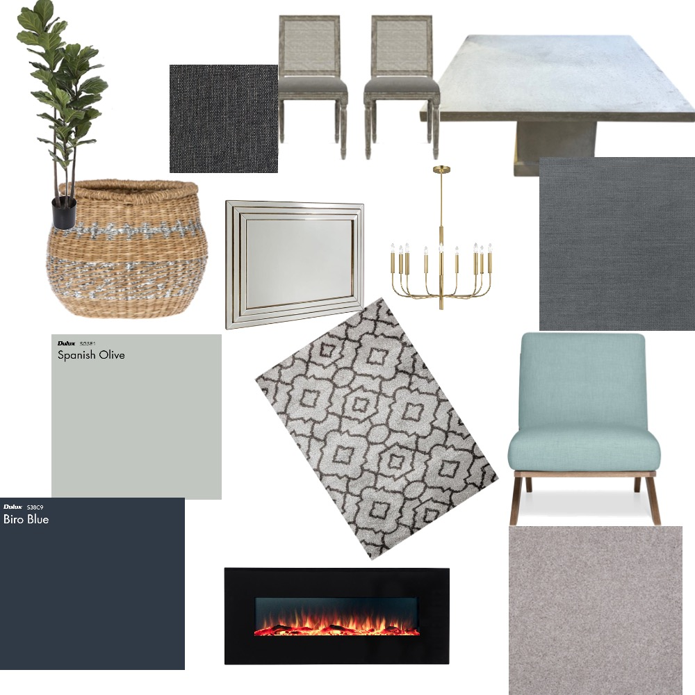 Dinning Interior Design Mood Board by Janis on Style Sourcebook