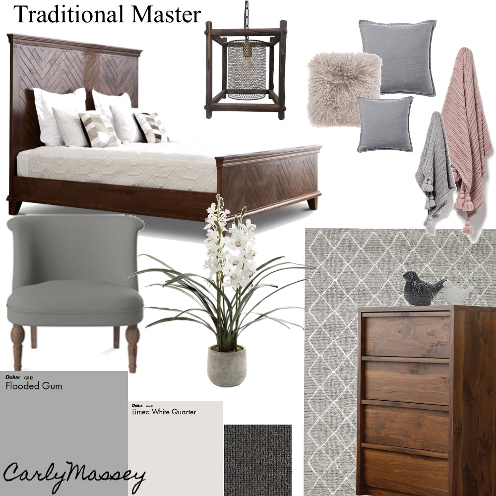 Traditional Master Bedroom Interior Design Mood Board By Carlymm Style Sourcebook