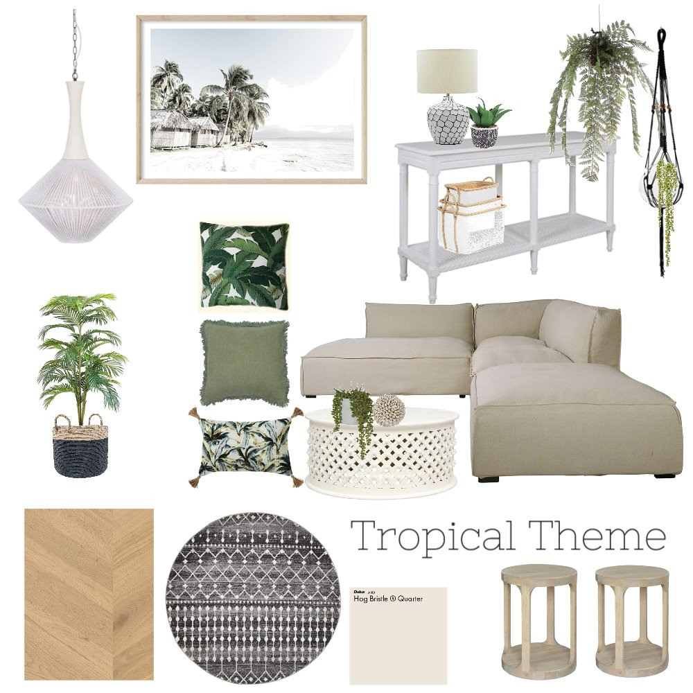 Tropical Mood Board Interior Design Mood Board by Hayloul79 on Style Sourcebook