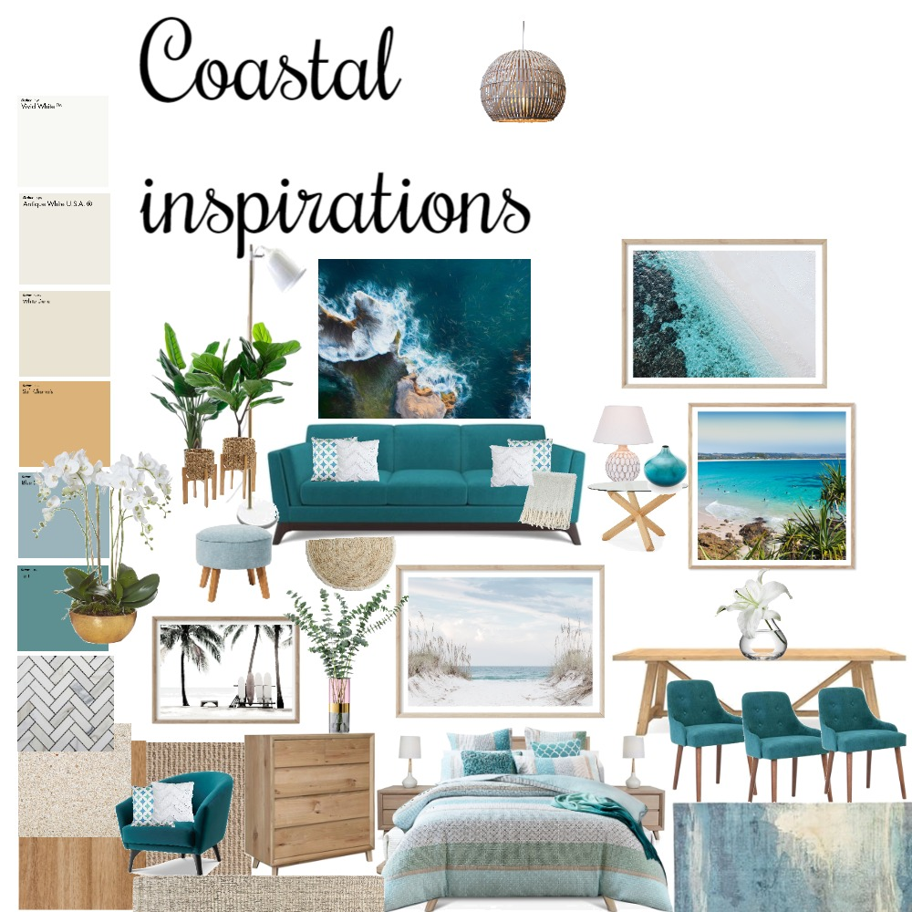 Coastal inspirations Interior Design Mood Board by BrenHanna on Style Sourcebook