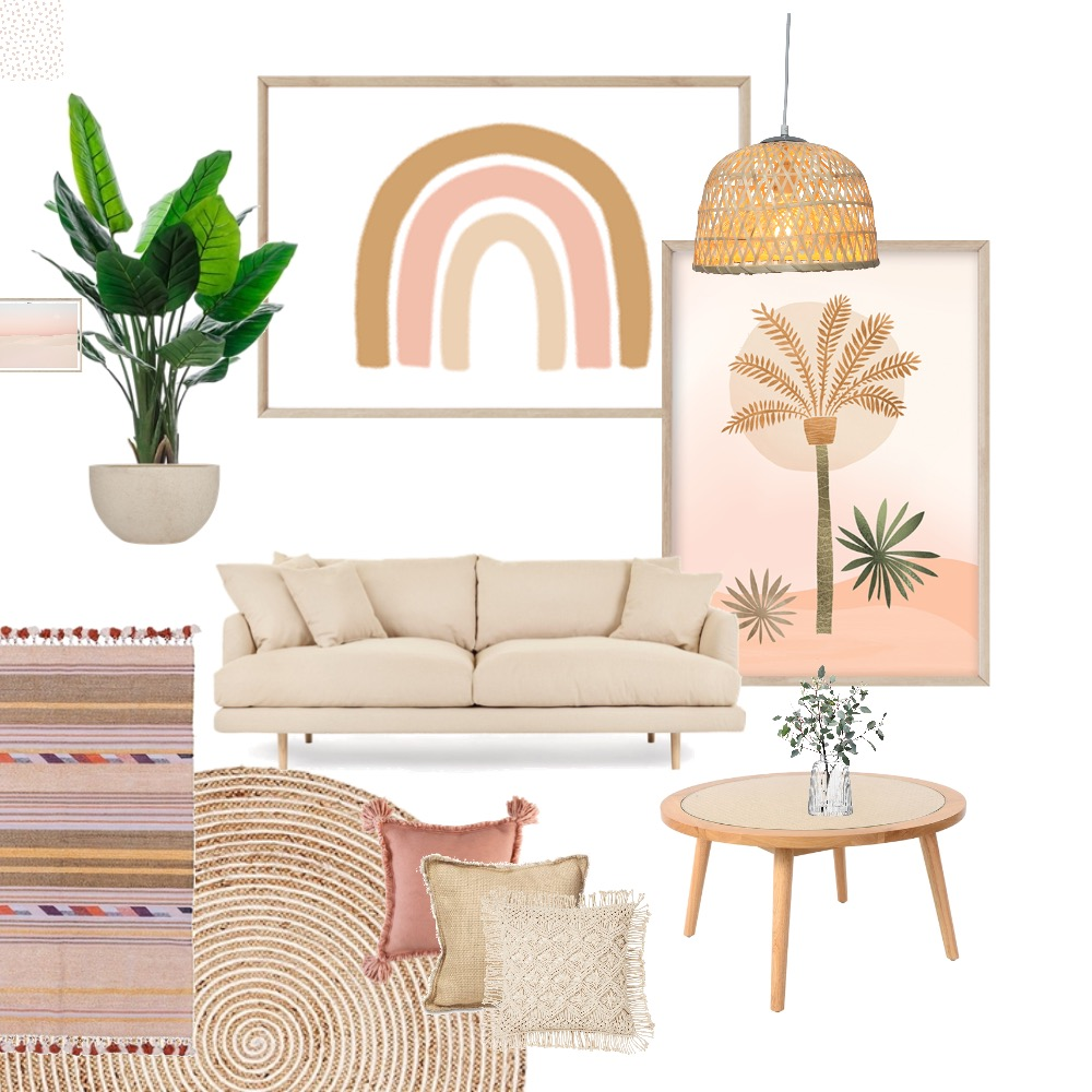 Modern Boho Interior Design Mood Board by Simplestyling on Style Sourcebook