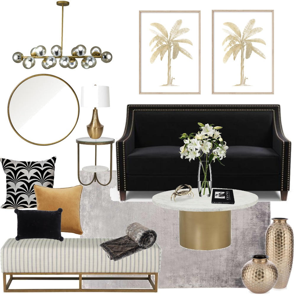 Hotel Luxe Interior Design Mood Board by Designbyjoanne on Style Sourcebook
