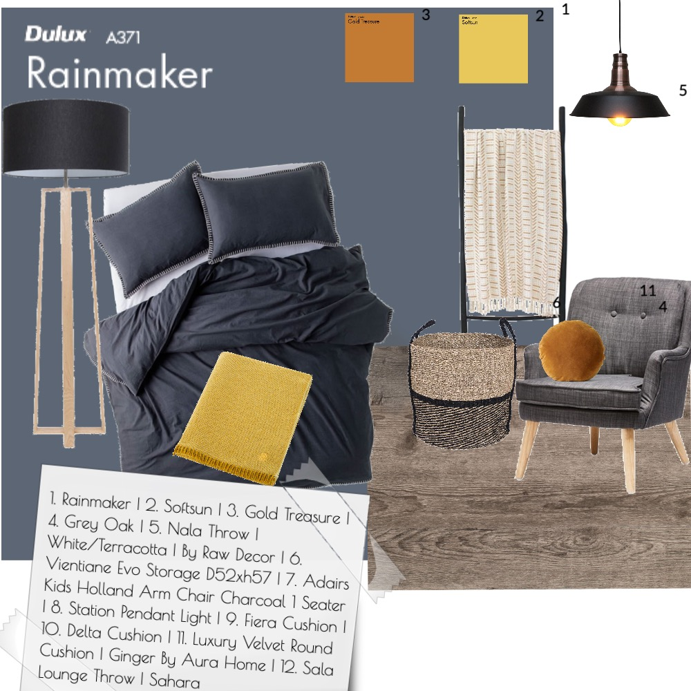 Dark Interior Design Mood Board by Sidney on Style Sourcebook