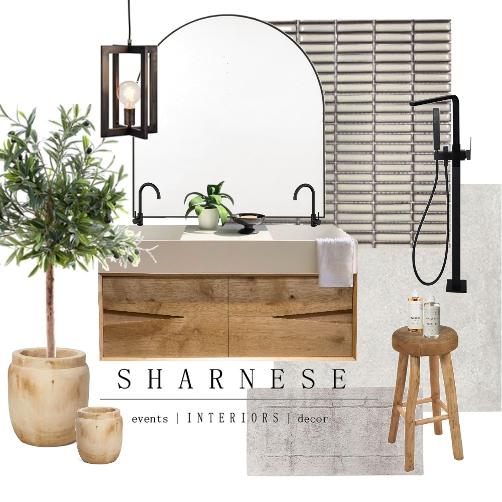 Aussie Bathroom Interior Design Mood Board by .Sharnese Interiors. on Style Sourcebook