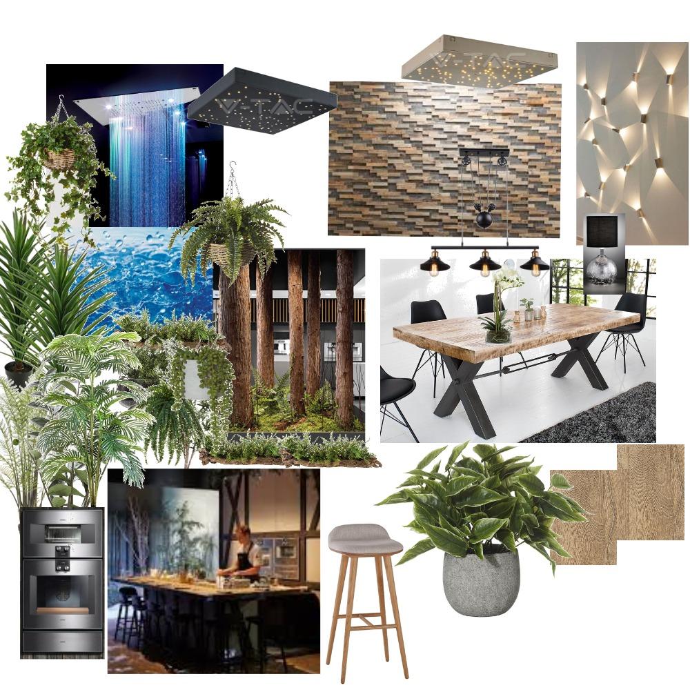 restourant Interior Design Mood Board by ida_ili on Style Sourcebook