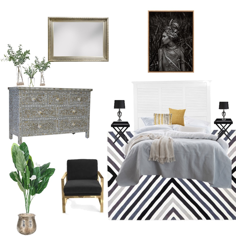 Bedroom1 Interior Design Mood Board by Zue on Style Sourcebook