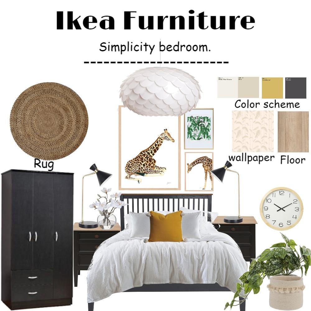 ikea bedroom Interior Design Mood Board by Rasha94 on Style Sourcebook