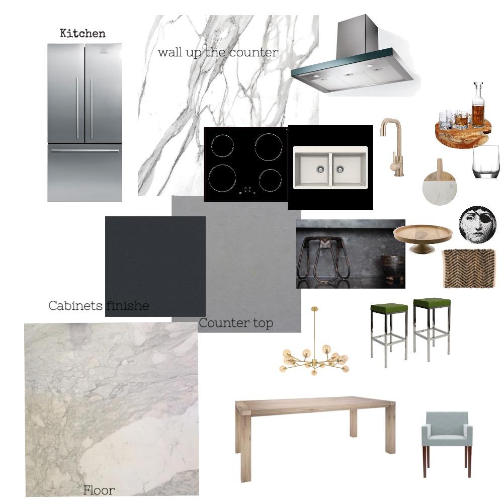 01 Kitchen Interior Design Mood Board by KayceeChen on Style Sourcebook