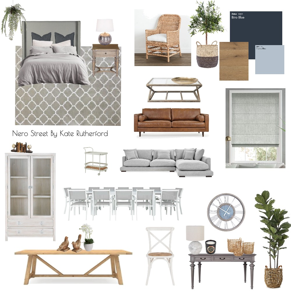 Nero Street Interior Design Mood Board by KateRutherfordStyling on Style Sourcebook