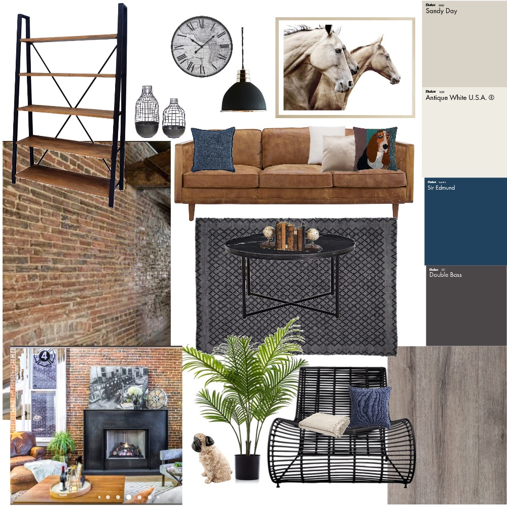 industrial Interior Design Mood Board by Jasper1 on Style Sourcebook