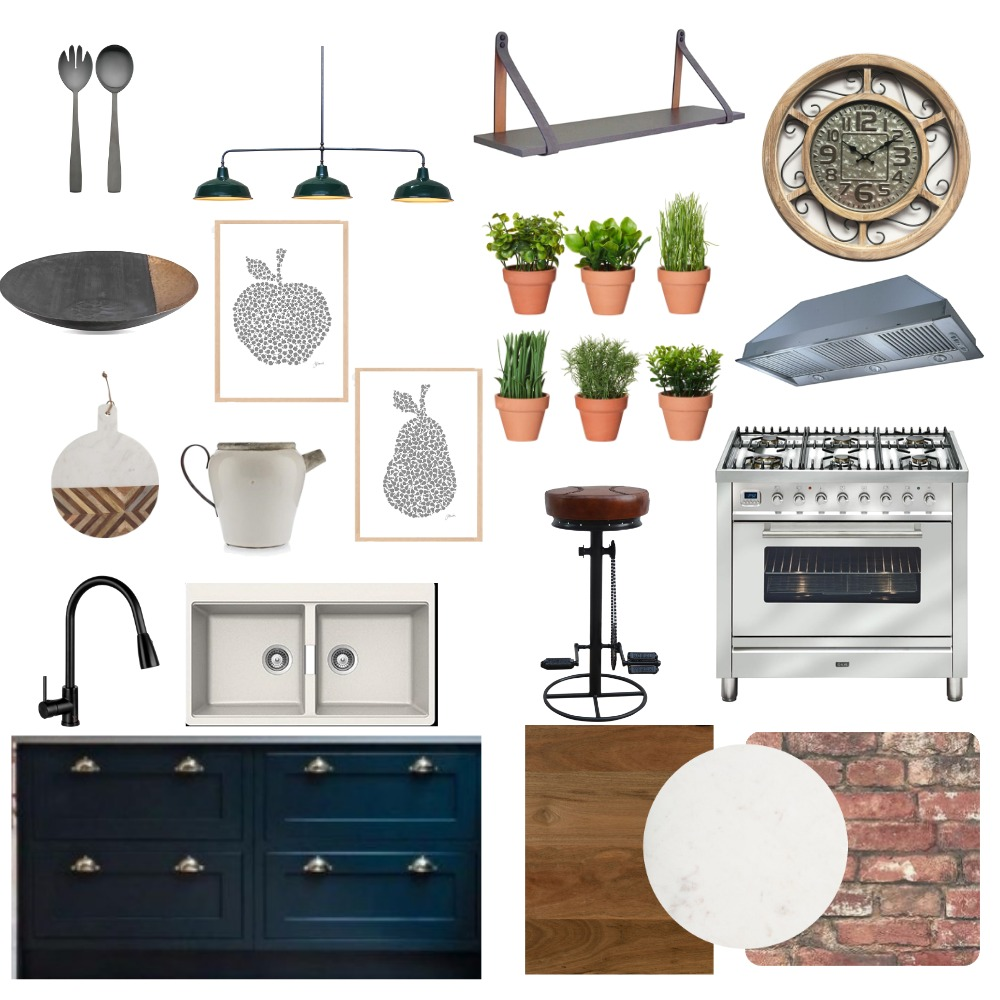 Industrial Interior Design Mood Board by Lenelle on Style Sourcebook