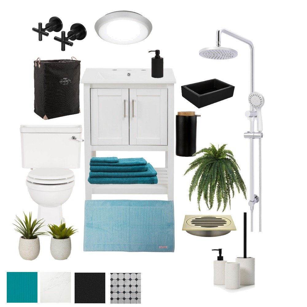 bathroom1 Interior Design Mood Board by gila on Style Sourcebook