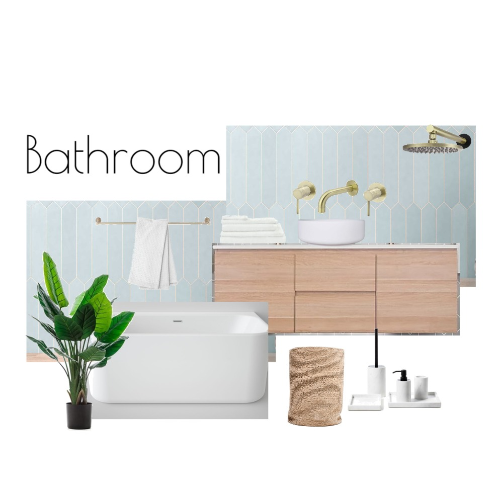 BATHROM Interior Design Mood Board by ZIINK on Style Sourcebook