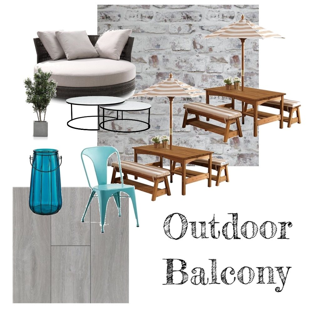 Outdoor Balcony Interior Design Mood Board by jords3 on Style Sourcebook