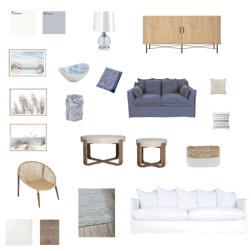 Hamptons Style Interior Design Mood Board by theoldhouse on Style Sourcebook
