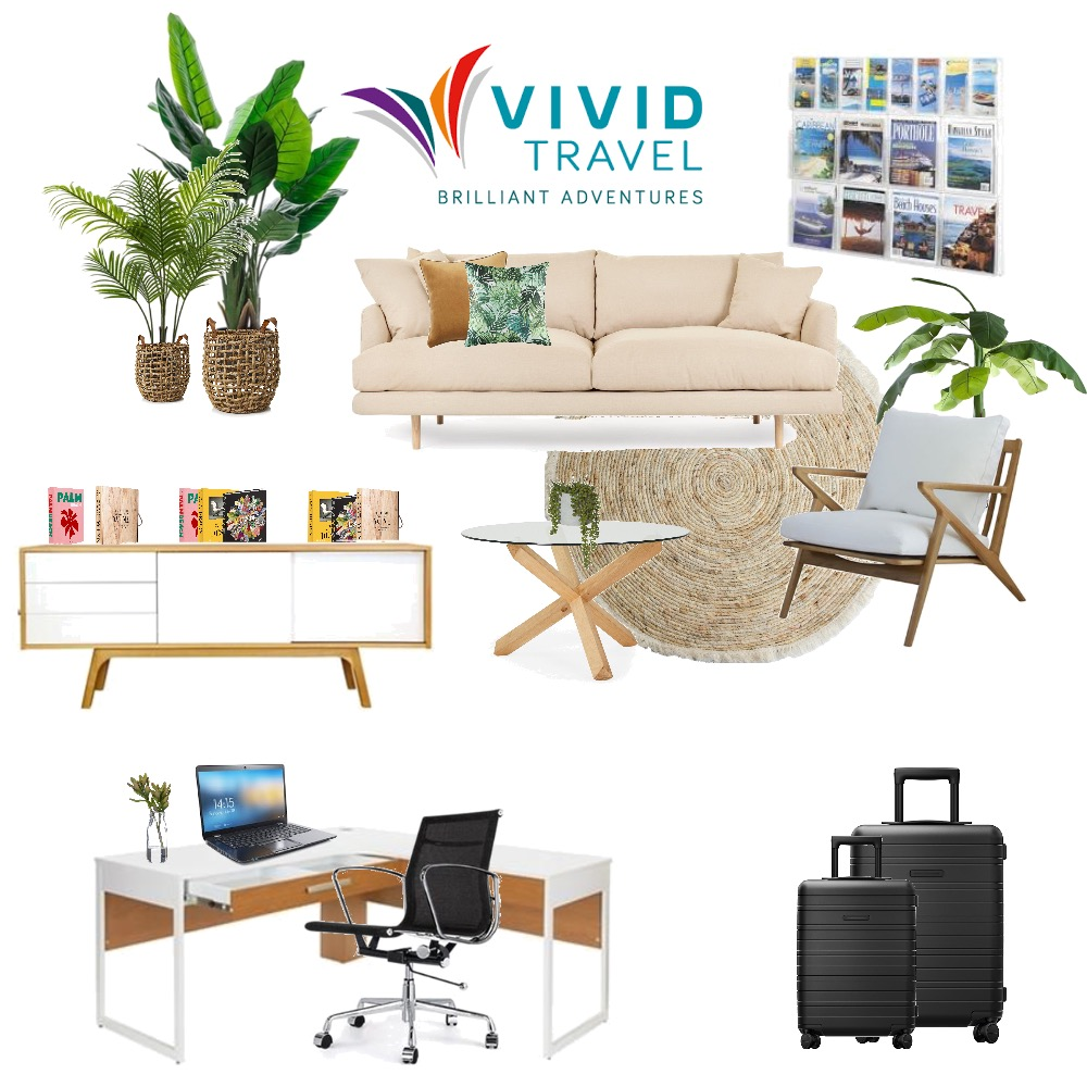 Vivid Travel Interior Design Mood Board by Melhawley on Style Sourcebook