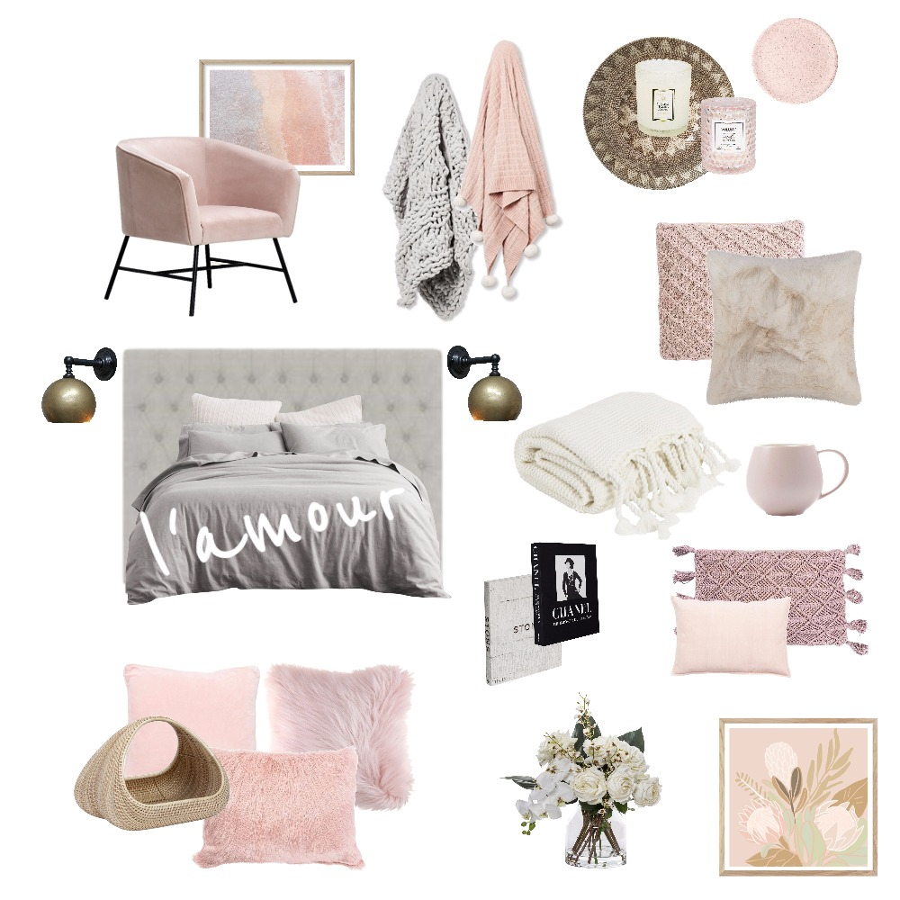 l' amour Interior Design Mood Board by cpinteriors on Style Sourcebook