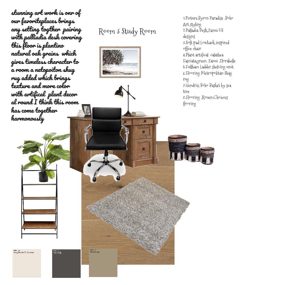 Study Room sample board 3 Interior Design Mood Board by Baylisse on Style Sourcebook