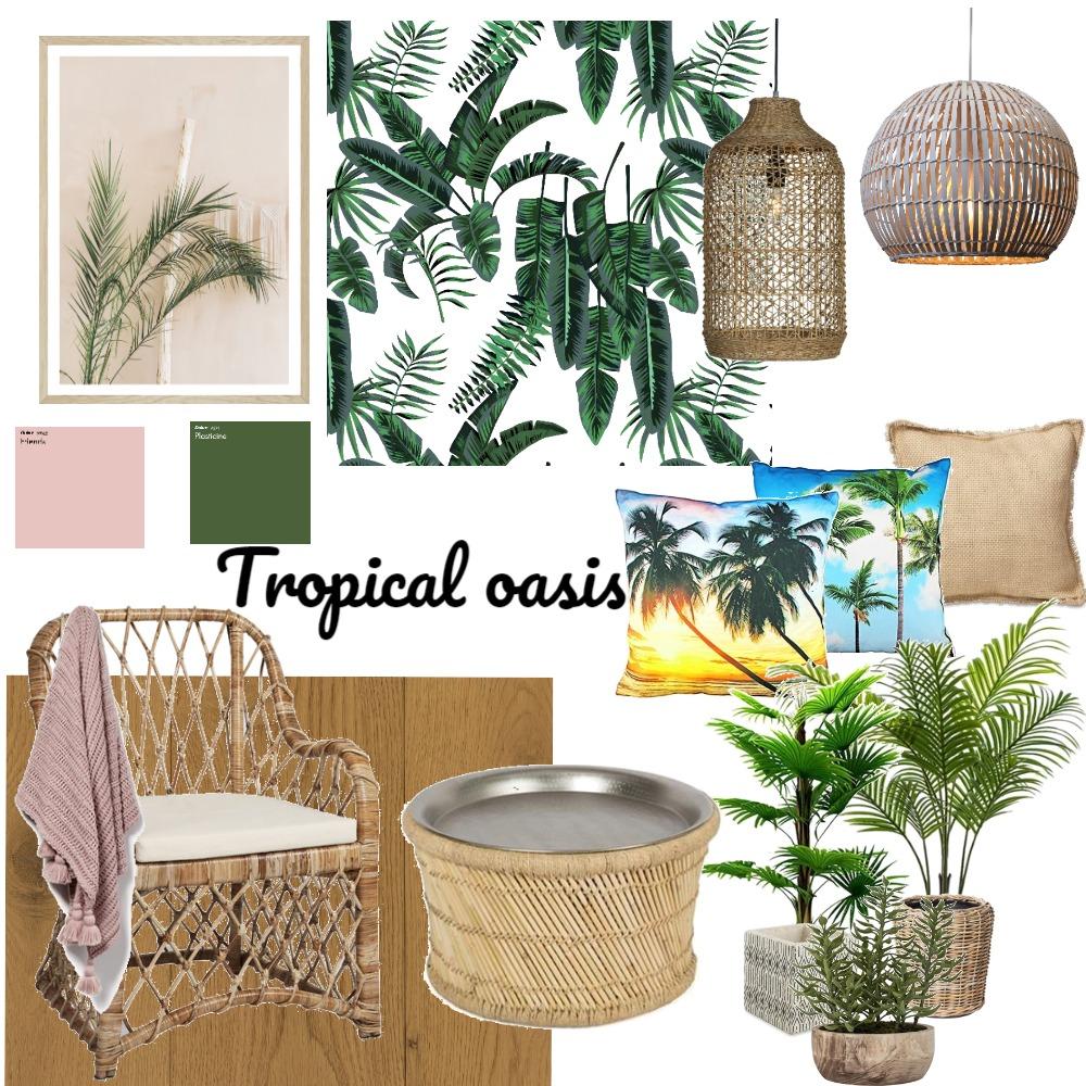 Tropical oasis Interior Design Mood Board by Stephanievanbrakel on Style Sourcebook