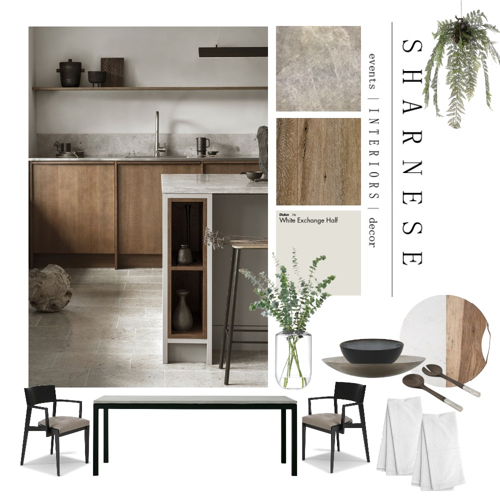 European Kitchen and Dining Interior Design Mood Board by Sharnese Interiors on Style Sourcebook